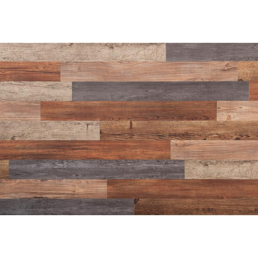 E Z Wall Assorted 4 In X 3 Ft Peel And Press Vinyl Plank Wall Decor 20 Sq Ft Case Vinyl Wall Panels Wood Plank Walls Vinyl Plank