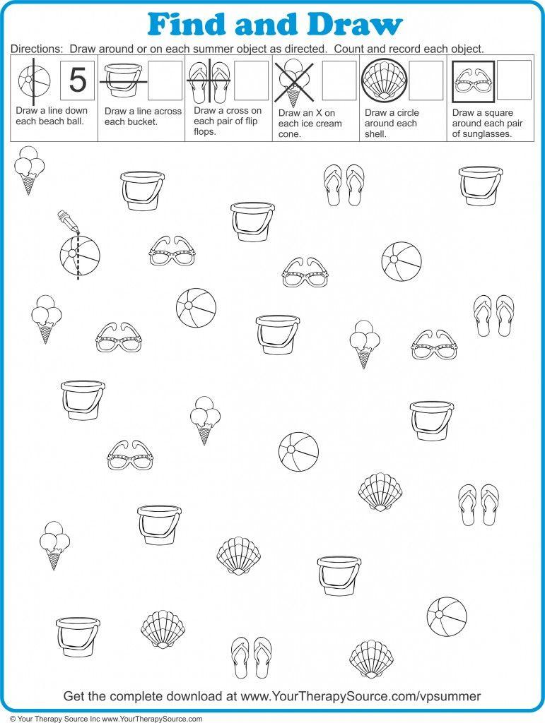 Visual Motor Integration Worksheets – Visual Motor Worksheets