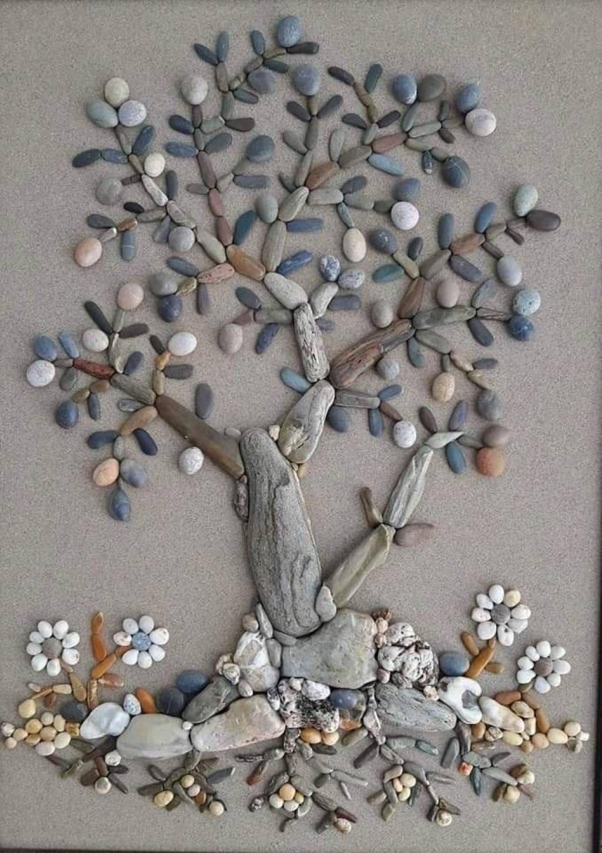 21 superbes oeuvres réalisées avec des pierres