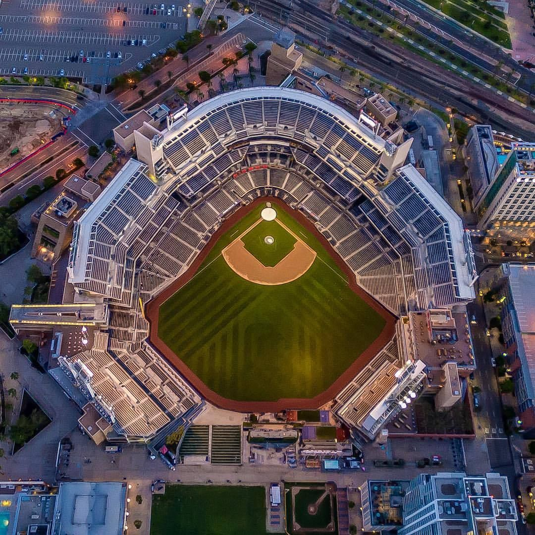 Petco Park Stadium San Diego Ca By Copterpilotla By Californiafeelings Com California Cali La Ca Sf Sandiego San Diego County California San Diego Cal