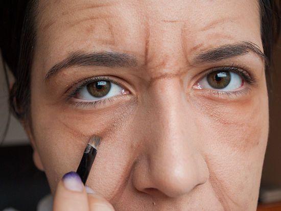 Aging Skin Makeup Tutorial Wikihow Old Lady Makeup Old Man Makeup Old Makeup