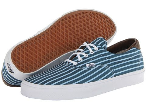 27ccc76fab5 Vans Era 59 (Stripes) Blue True White