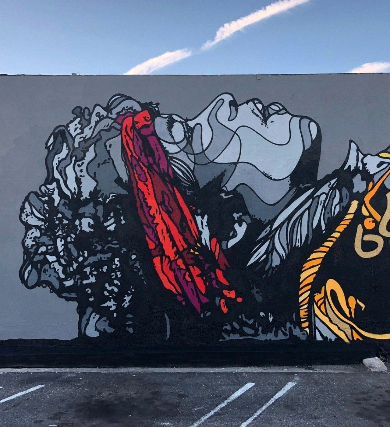 David flores with images urban art street art art