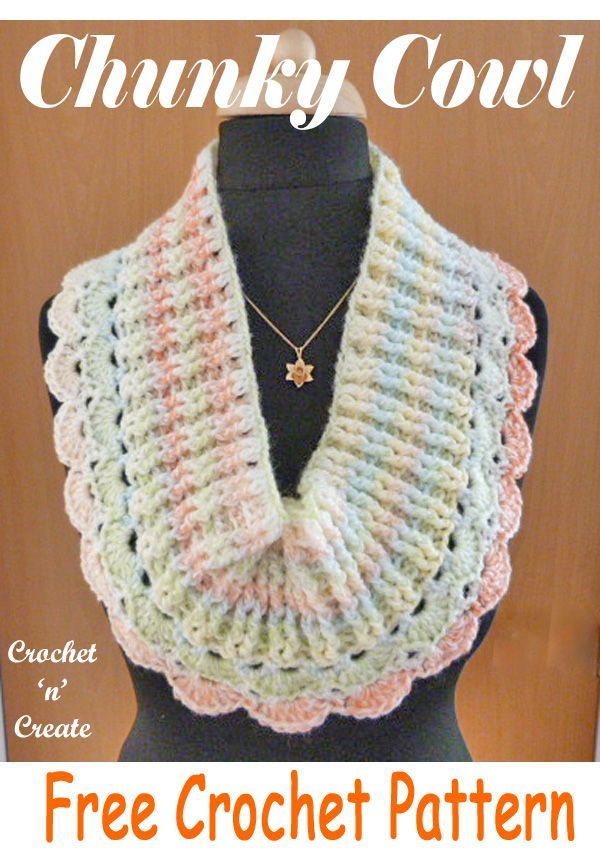 Chunky Cowl Free Crochet Pattern | Free Crochet Patterns from My ...