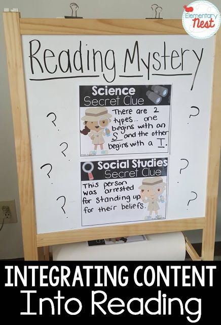 Weekly Reading Mystery FREEBIE [Sci. & SS Integration]
