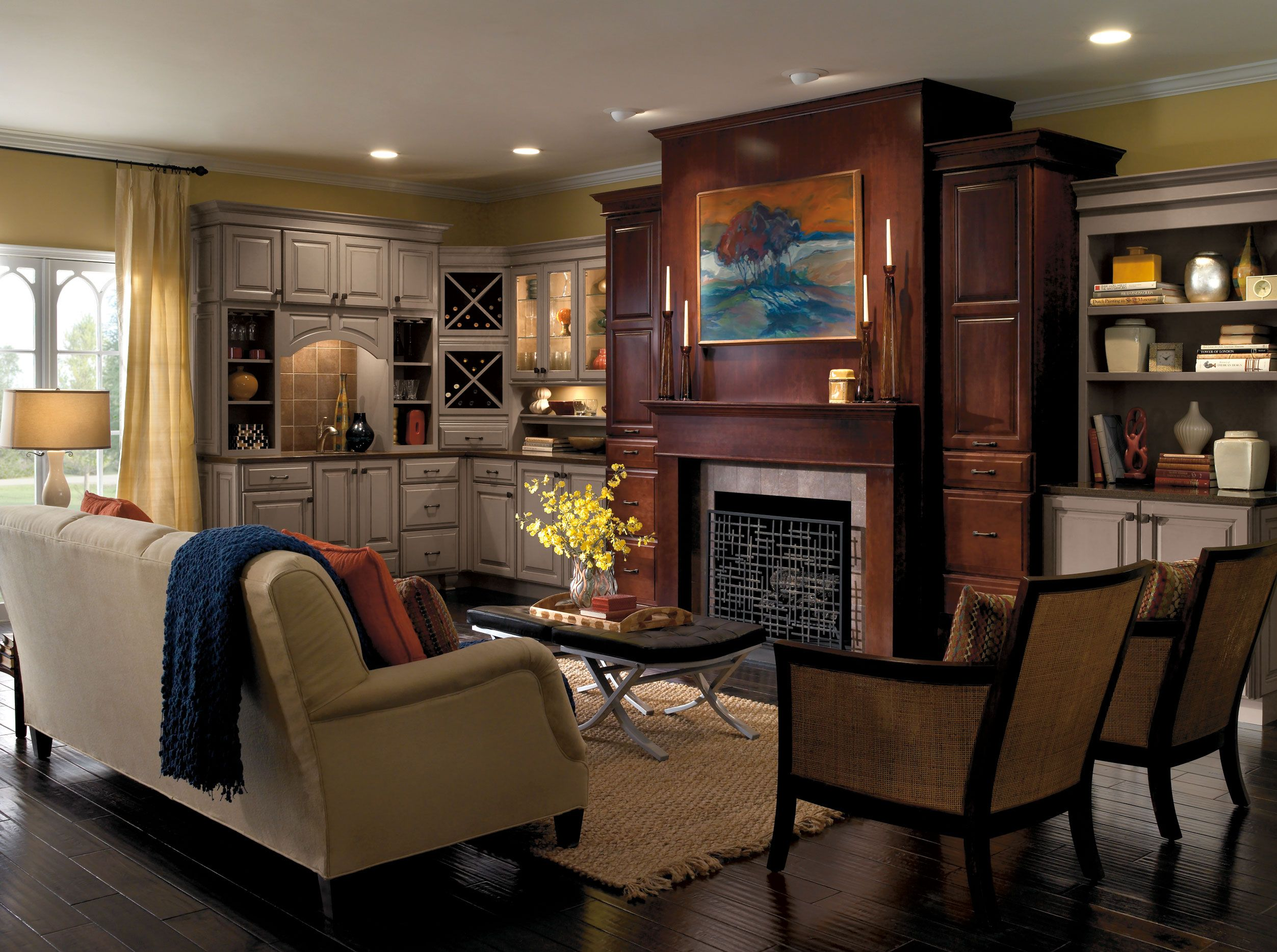 Add Warmth To Your Living Space With An Elegant Fireplace