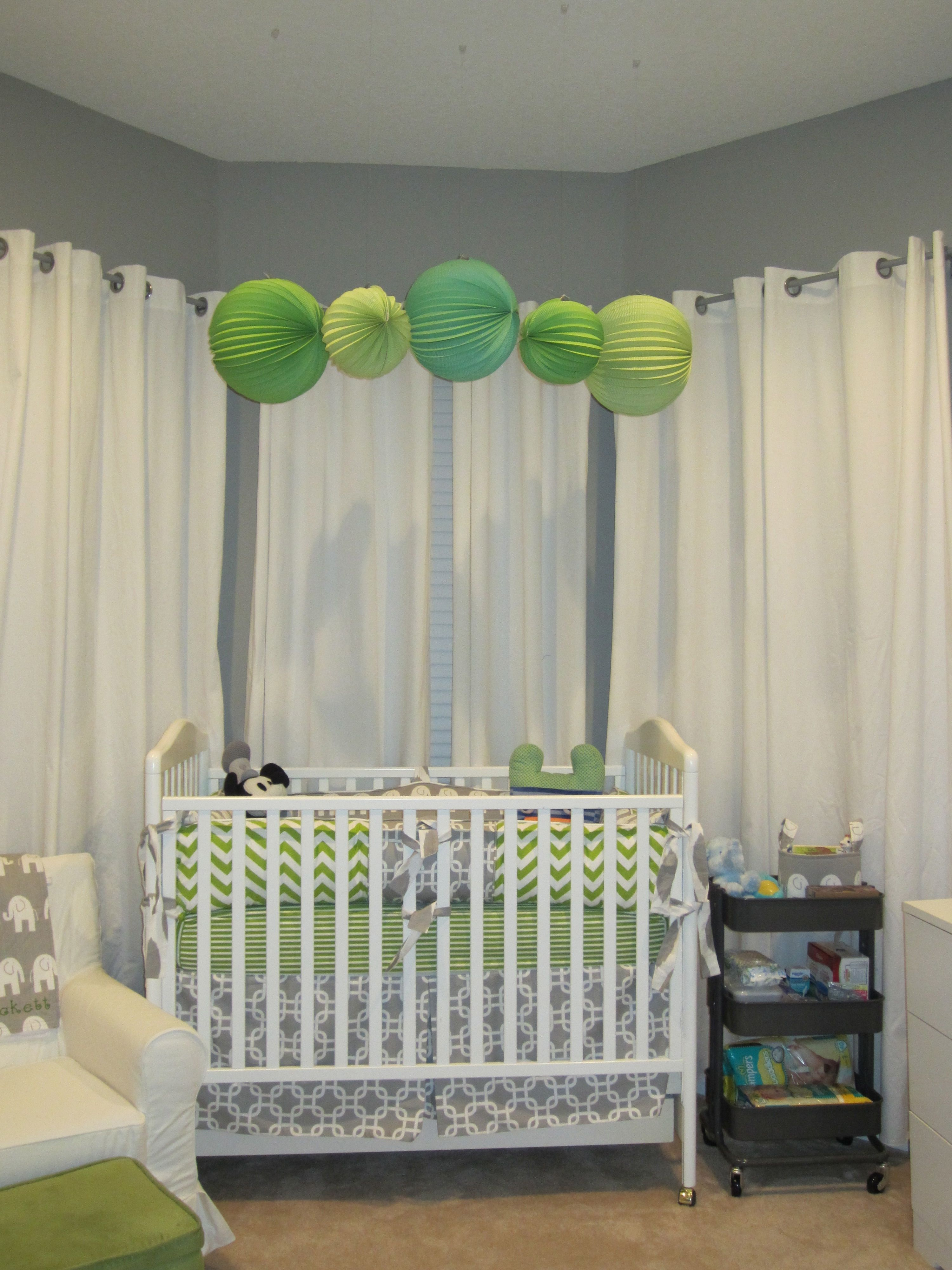 Master bedroom nook  I love the idea of nursery nook in the master bedroom for the first