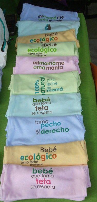 Me encanta!!! para promover la lactancia materna a full!!!