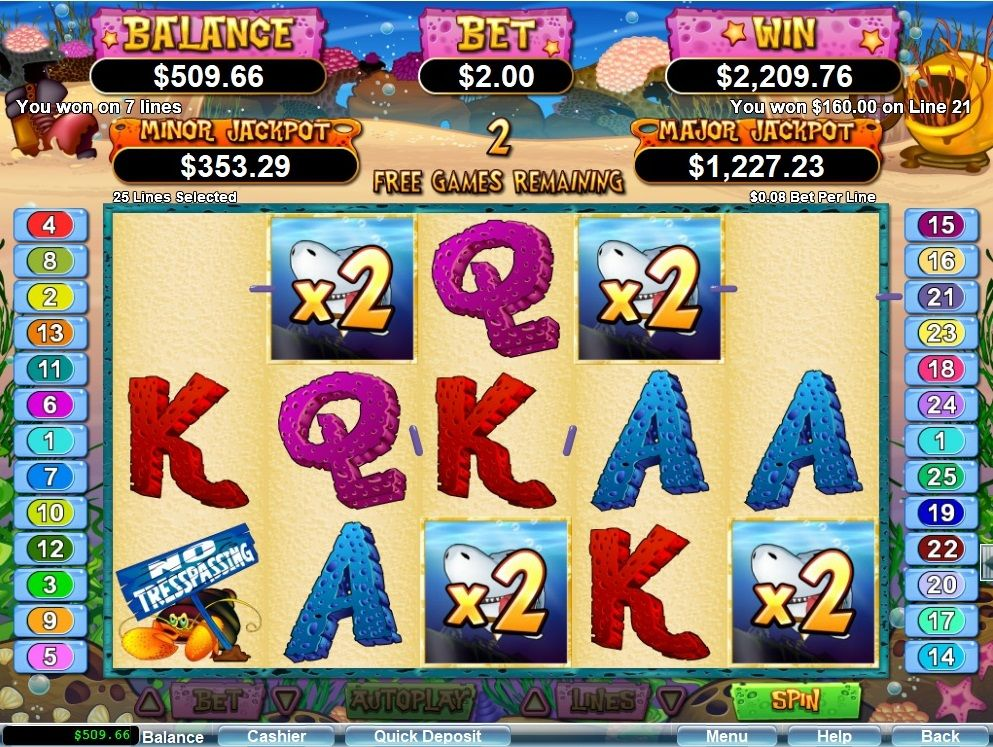 1104 times the triggering bet on Ocean Oddities slot game