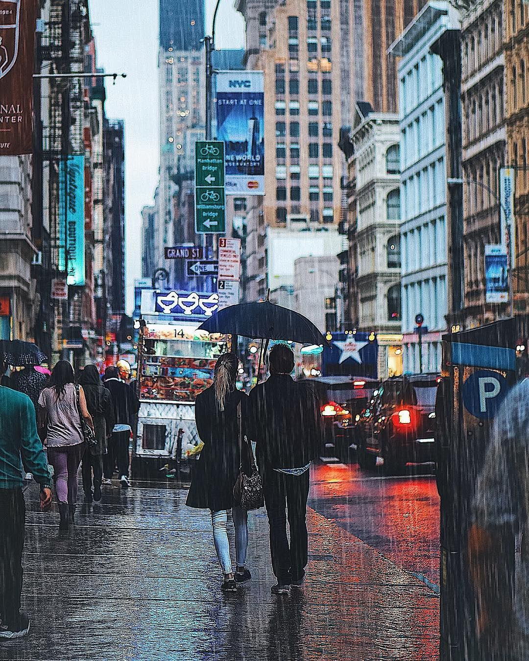 While We Don T Know What The Future Will Look Like We Do Know That The One We Participate In Creating Will Look Very Places In New York Rainy City City
