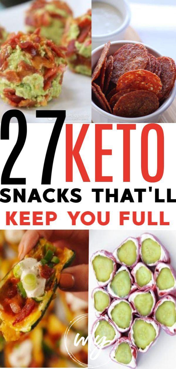 27 Keto Snacks On the Go