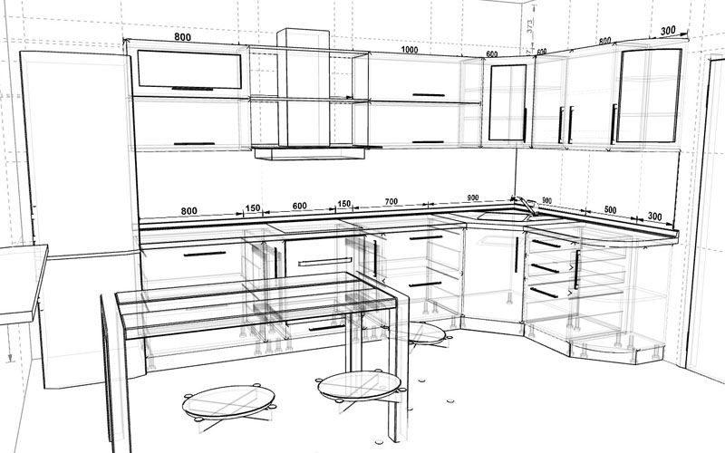 Kitchen Planner Online Apartment Size Table 3d Prodboard