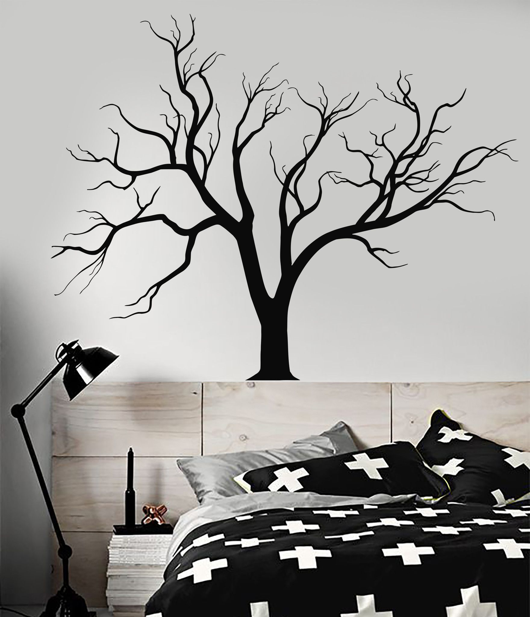 Vinyl Wall Decal Gothic Nature Tree Branches Home Design Stickers - Where to get vinyl stickers made