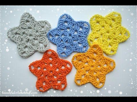 Crochet Star Free Pattern Beautiful Crochet Stuff My Hobby Is