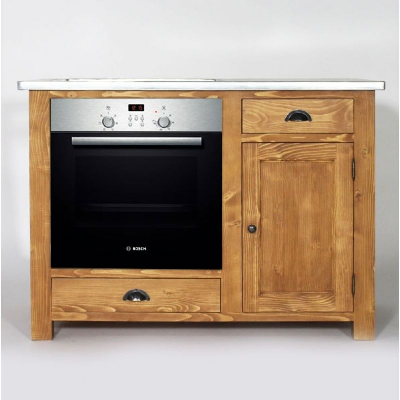 Wooden Kitchen Cabinet For Oven And Country Plates Meuble Cuisine Cuisine Bois Meuble Cuisine Bois
