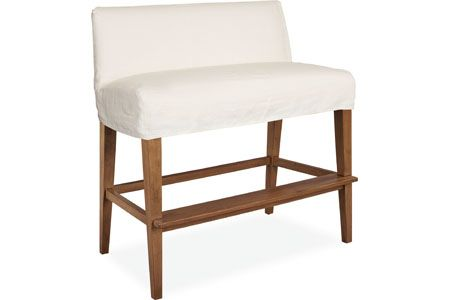 Lee Industries C7000 57 Slipcovered Bar Bench Furniture Seating Slipcovers