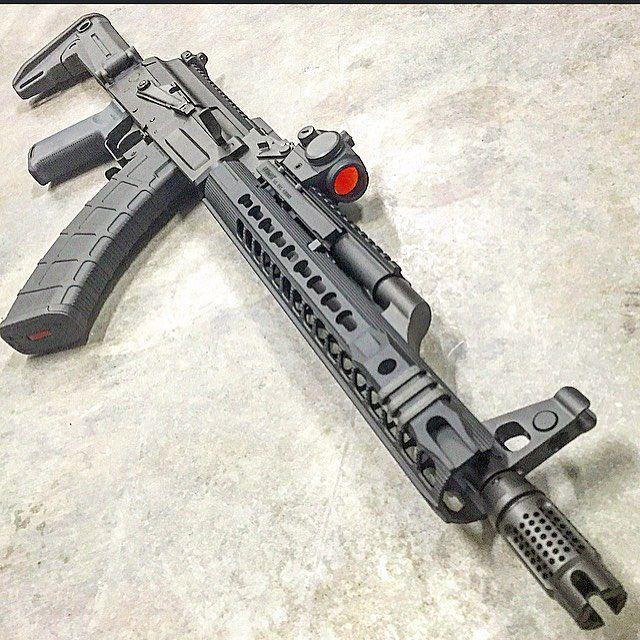 Image result for armacon ak rails   AK Rifles   Guns