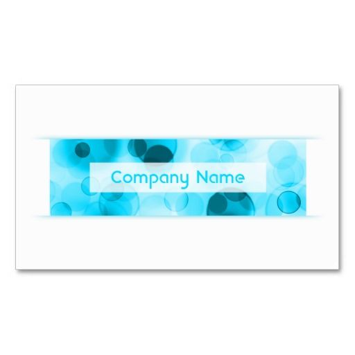 Blue Bokeh Loyalty Punch Card Business Card By Asyrum Loyalty - Loyalty stamp card template