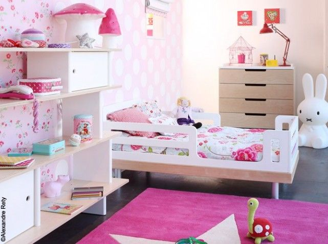 1000 images about chambre filles on pinterest coins belle and pine furniture - Chambre Petite Fille 3 Ans
