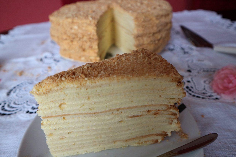 Torte Napoleon Mit Quark Rezept Fur Beliebten Kuchen Mal Anders In 2020 Quark Rezepte Napoleonkuchen Kuchen Ausgefallene