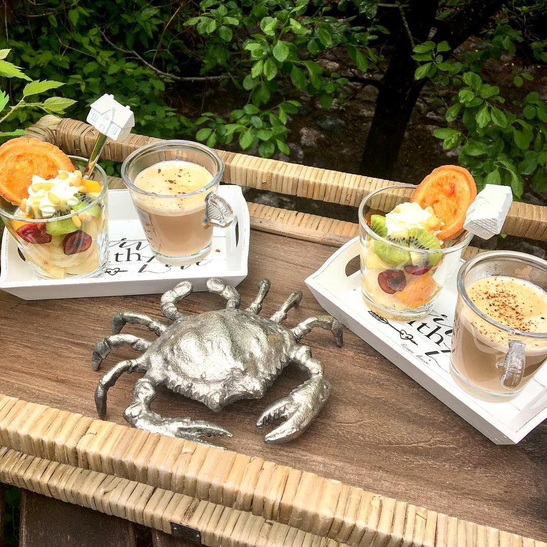"""Nanna Tuomisto 💁✨ on Instagram: """"Getting the day started on the patio ☕️☀️ Päivä käyntiin ulkona ☕️☀️ ~~~~~~~~~~~~~~~~~~~~~~~~~~~~~~~~~~~~~ #breakfast #fruitsalad #onthepatio…"""""""