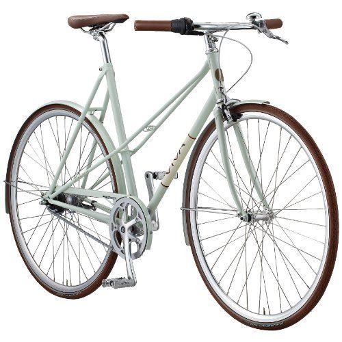 Fahrrad Viva Lady Bellissimo Damen 7g Tea Milk Green 2014 Rahmengrosse 56 Cm Fahrrad Damenfahrrad Radfahren