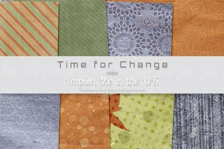 Time for Change on Craftsuprint #cardmaking #scrapbooking #papercrafts #digiscrap