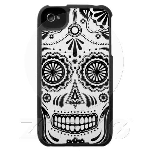 Urban Aztec Sugar Skull iPhone4 case