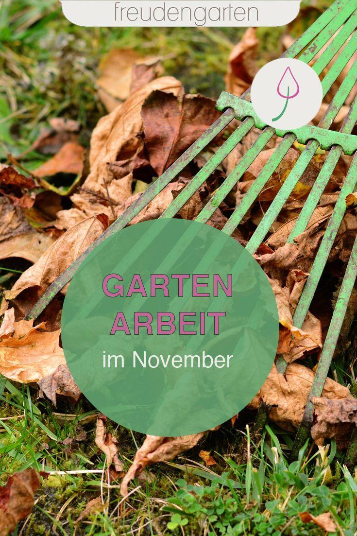 Gartenarbeit im November Gartenarbeit, Garten und