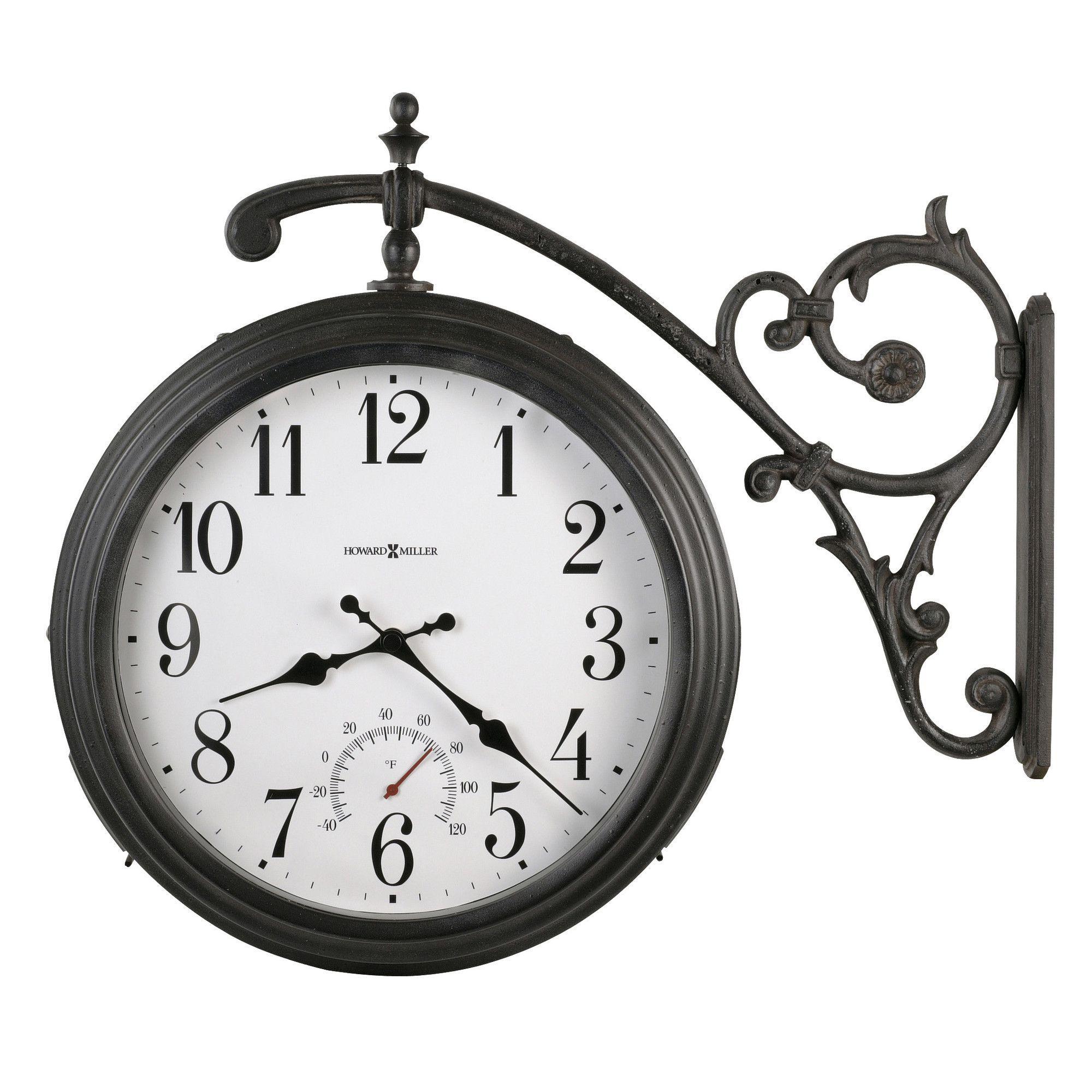Indoor outdoor 1525 luis quartz wall clock signage indoor outdoor 1525 luis quartz wall clock amipublicfo Choice Image