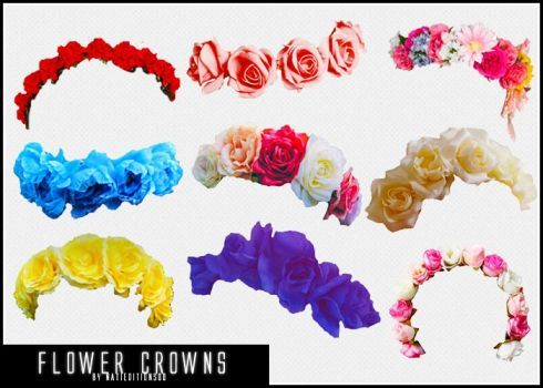 87 Flower Crowns Png By Natieditions00 Crown Png Flower Crown Tumblr Flower