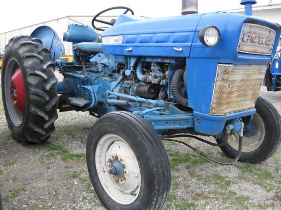 Photos Of 1968 Ford 2000 Tractor For Sale Flint New Holland Inc