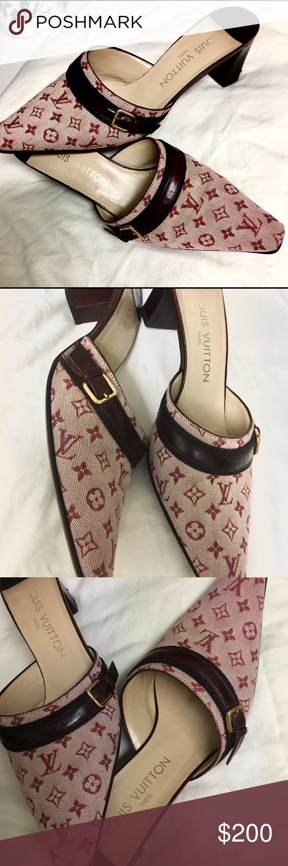 AUTHENTIC LV mules/kittens-I never wore. Ever | Clothes ...