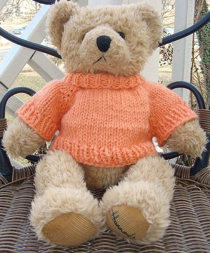 Teddy Bear Sweater by Cubs for Kids | Knitted teddy bear ...