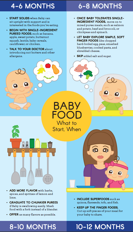 Baby Food What To Start When Favorites From Parents