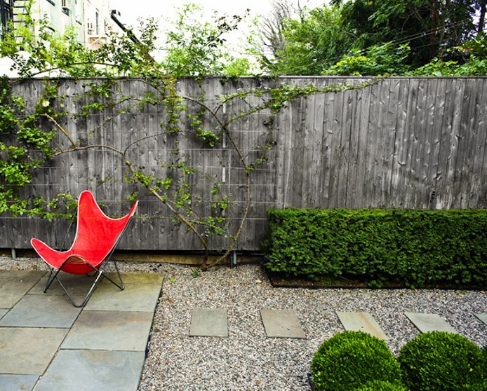 Townhouse Backyard Fence :  on Pinterest  Contemporary gardens, Yards and Townhouse garden
