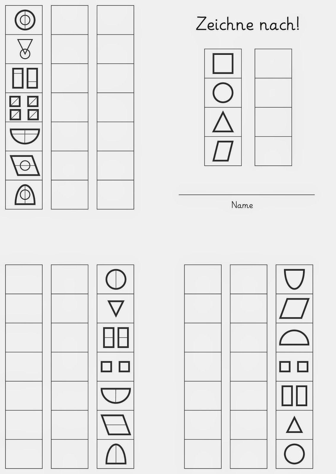 zeichne nach 1 wahrnehmung pinterest vorschule schule und grundschule. Black Bedroom Furniture Sets. Home Design Ideas