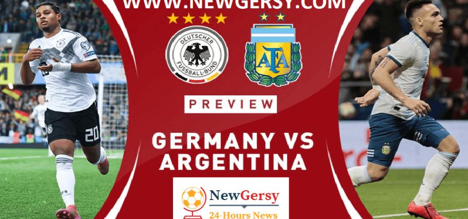 Germany vs Argentina Live stream International friendly
