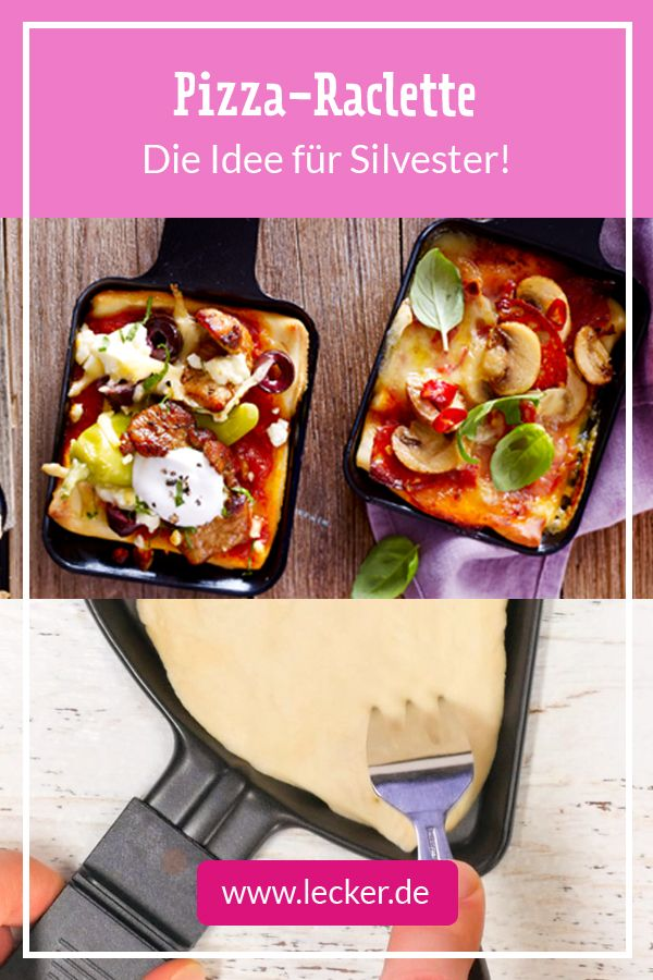 Photo of Pizza raclette – that's how it's done