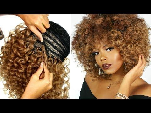 (23) OMG CROCHET BRAID WIG TRANSFORMATION |HOW TO MAKE A WIG| PROTECTIVE STYLE| TRUSTTHYTRESS X TASTEPINK - YouTube #crochetbraids