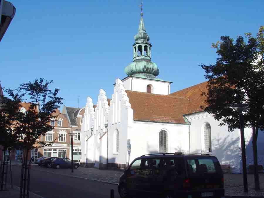 Lemvig Church Med Billeder Danmark Kirke Landsby