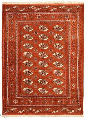 Central Asian Rug - Bokhara Carpet  Width130.00 cm (4,27 Feet) Lenght178.00 cm (5,84 Feet)