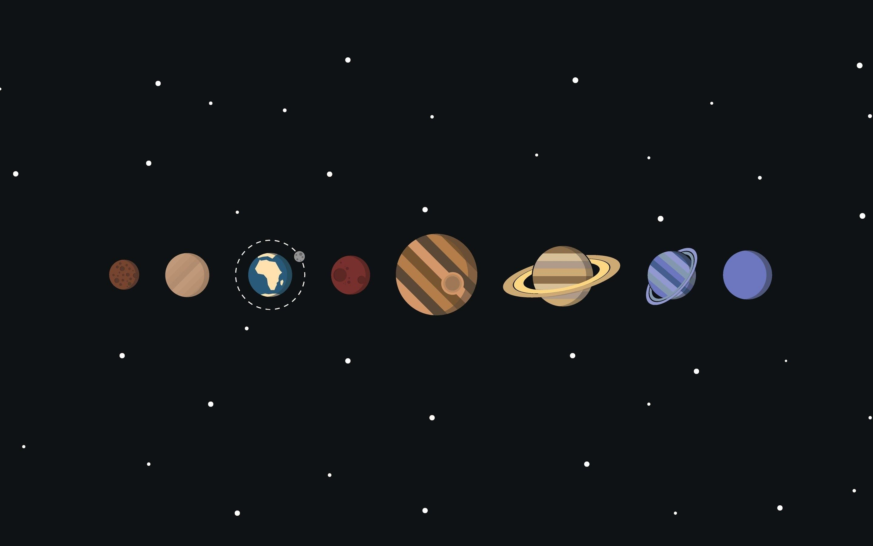 Minimal Solar System Hd Wallpaper System Wallpaper Desktop Wallpaper Art Computer Wallpaper Desktop Wallpapers