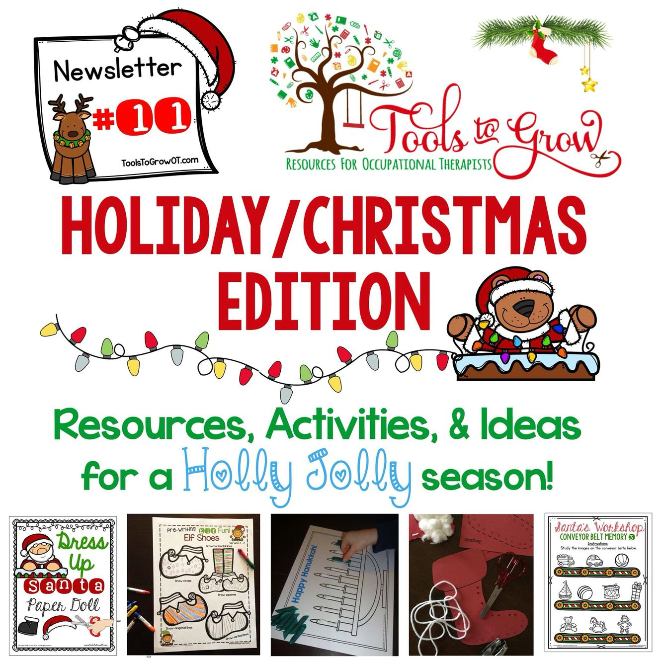 ChristmasHoliday Newsletter  Christmas Newsletter Activities