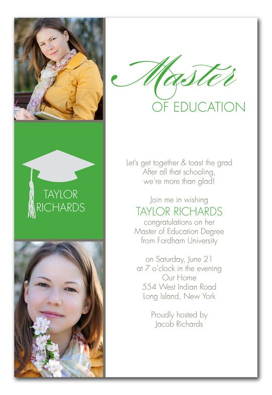 Masters Grad Degree