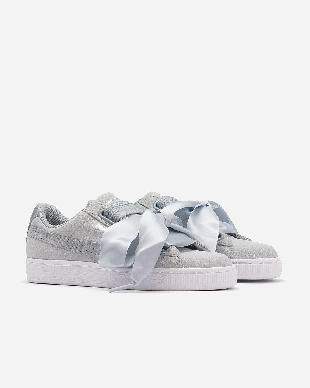 newest eeffb b0ad3 Puma Suede Heart Quarry Womens Sneaker 36408302 | Sole ...