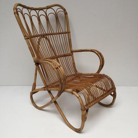 Vintage Rattan Wicker Chair Fauteuil Rotin Vintage Free Delivery Uk Livraison Gratuite France Fauteuil Vintage Meuble Vintage Fauteuil Rotin