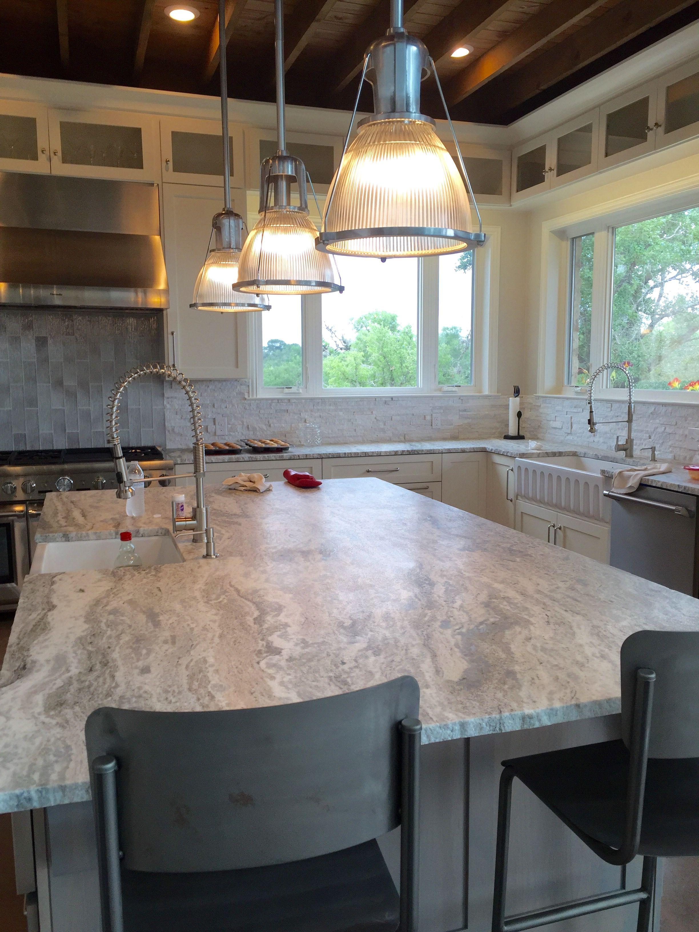 We used fantasy brown granite Granite countertops