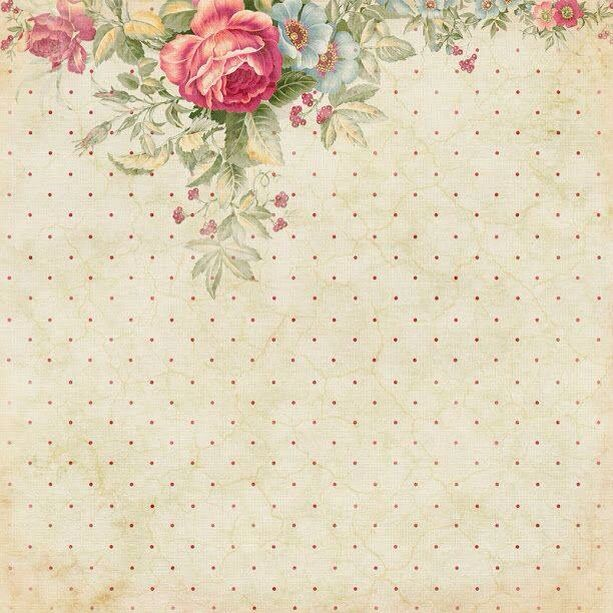 Pin By Nora Naif On ملف الانجاز والتحضير Paper Roses Background Vintage Decoupage Paper