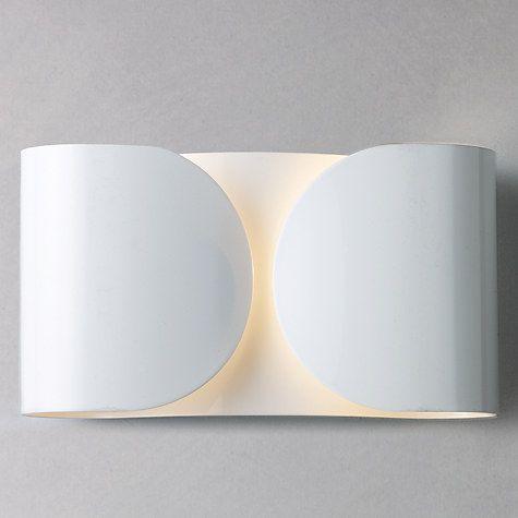 Flos foglio wall light lighting online lights and walls buy flos foglio wall light online at johnlewis aloadofball Gallery